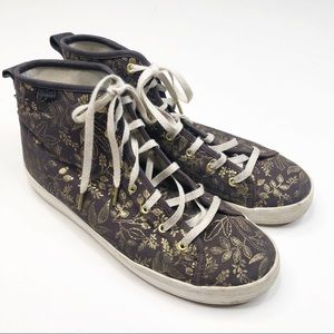 Keds x Rifle Paper Co. Floral High Tops